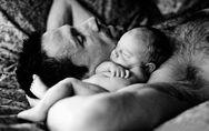 20 imágenes que prueban que la paternidad saca el lado más tierno de los hombres