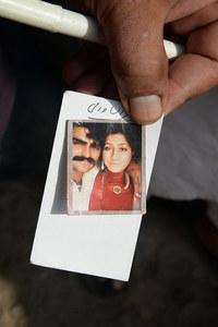 Muqaddas Bibi et son mari