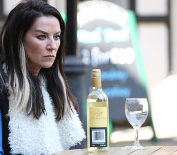 Hollyoaks 27/6 - Cleo feels lets down when Reenie goes missing