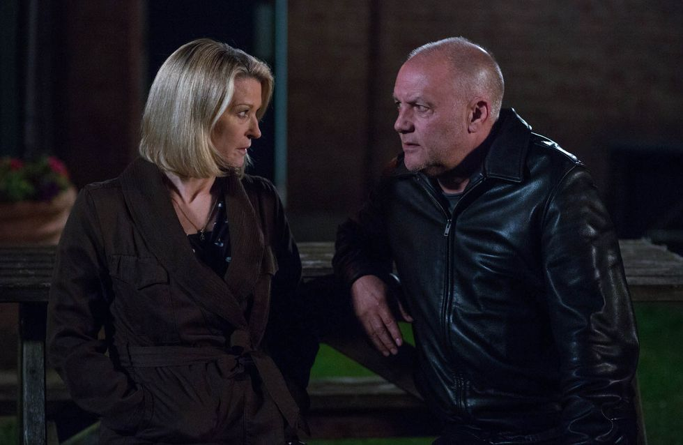 Eastenders 27/6 - Buster confides in Kathy about his relationship with Shirley