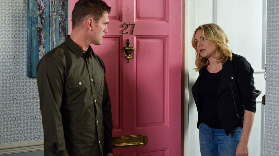 Eastenders 28/6 - Roxy tries to assure Jack how serious she is about changing for the good