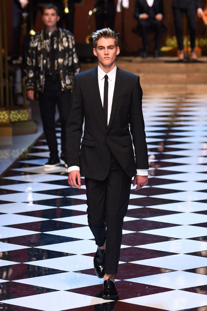 Presley Gerber pour Dolce & Gabbana