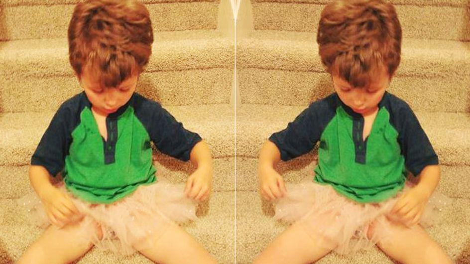 Ihr Sohn trägt gern Nagellack und Röcke - Warum muss sie ihn deshalb verteidigen?