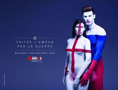 La nouvelle campagne d'AIDES
