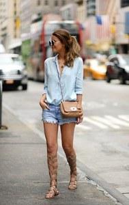 Les shorts en jean repérés sur Pinterest