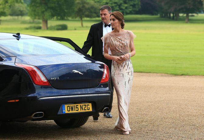 Kate Middleton à Houghton Hall en juin 2016