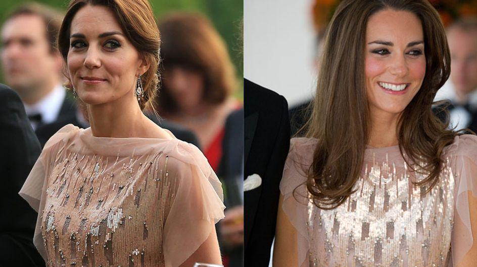 Kate Middleton recycle l'une de ses robes et pas n'importe laquelle