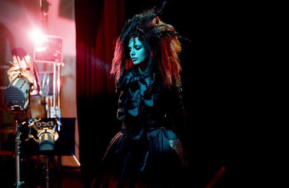 Kendall Jenner, métamorphosée en poupée gothique pour Marc Jacobs
