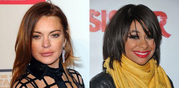Lindsay Lohan y Raven Symoné