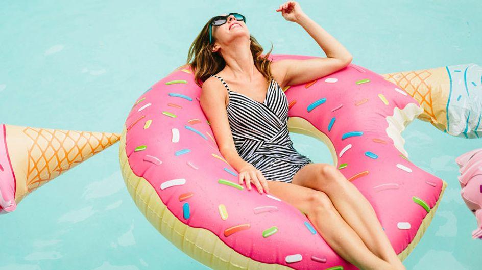 Colchoneta chic, el nuevo accesorio de moda de este verano