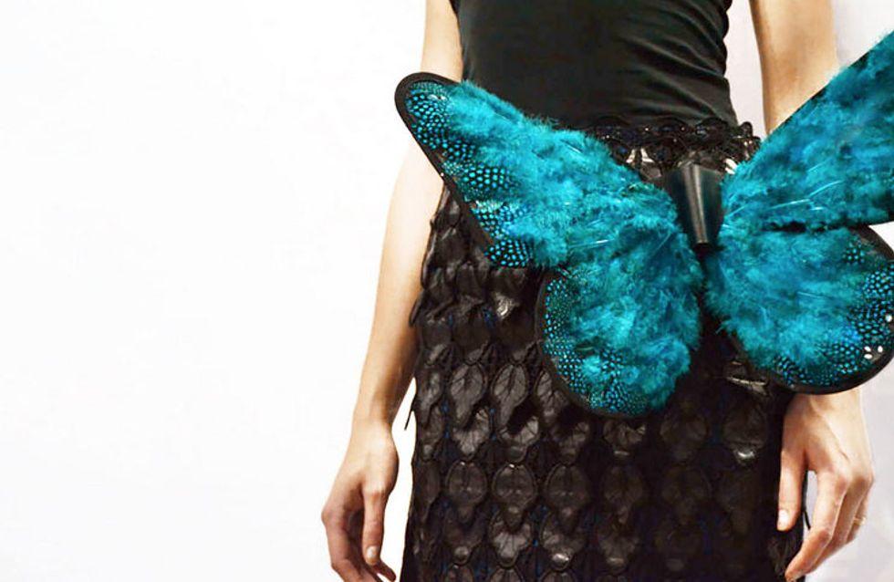 Ça vous dirait un papillon animé sur la jupe ? (Vidéo)
