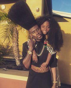 Benny Harlem et sa fille Jaxyn