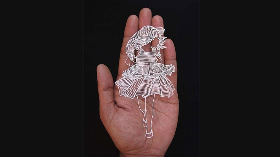 ¡En papel! El artista que construye sorprendentes obras de arte con recortes