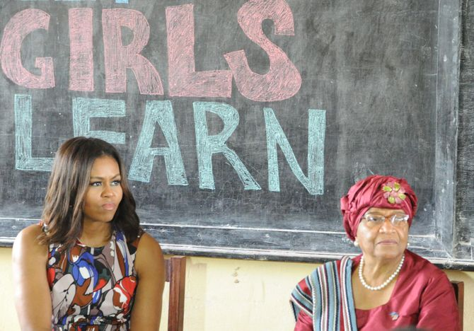 Michelle Obama au Liberia pour Let Girls Learn