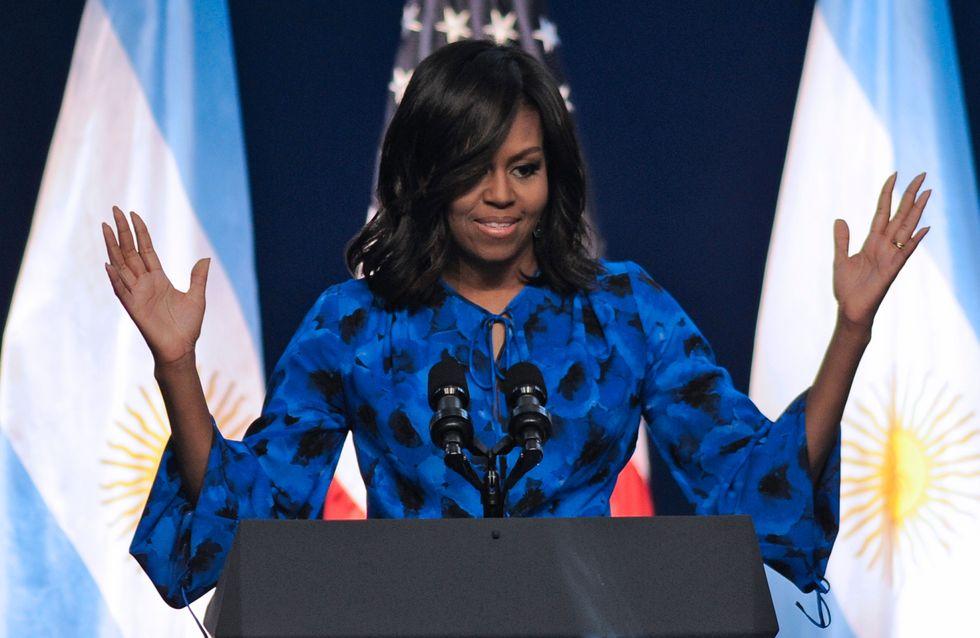 Michelle Obama promet 100 millions de dollars pour l'éducation des Marocaines