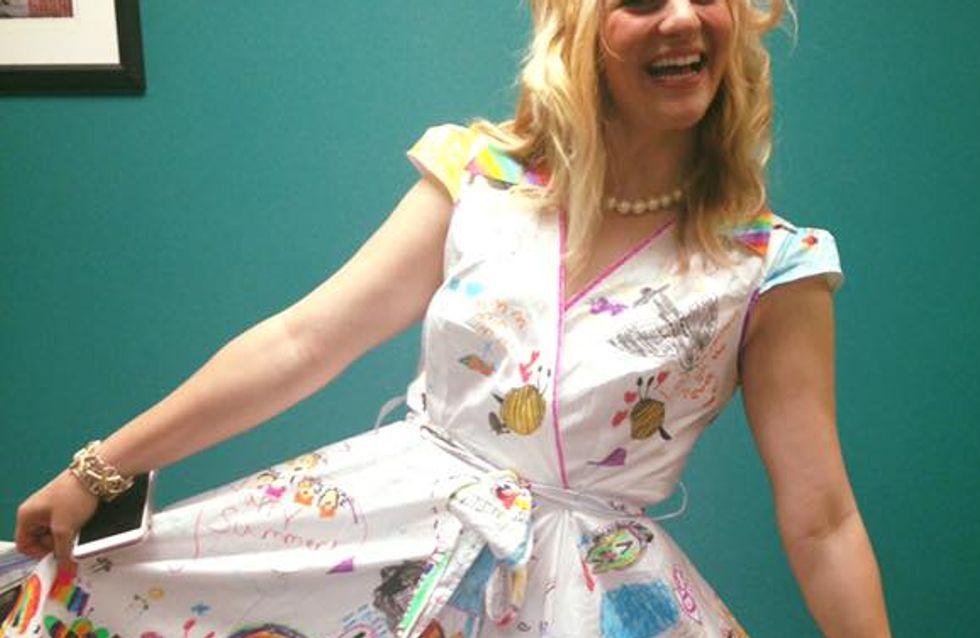 Ses élèves ont customisé sa robe et le résultat est CANON (Photos)