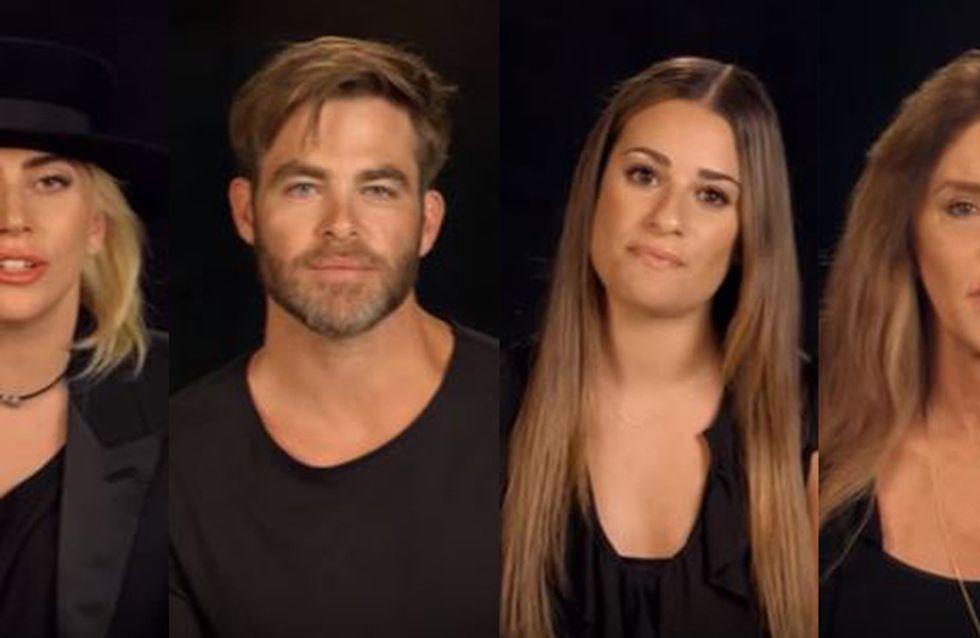 Le bouleversant hommage de 49 stars aux victimes d'Orlando (Vidéo)