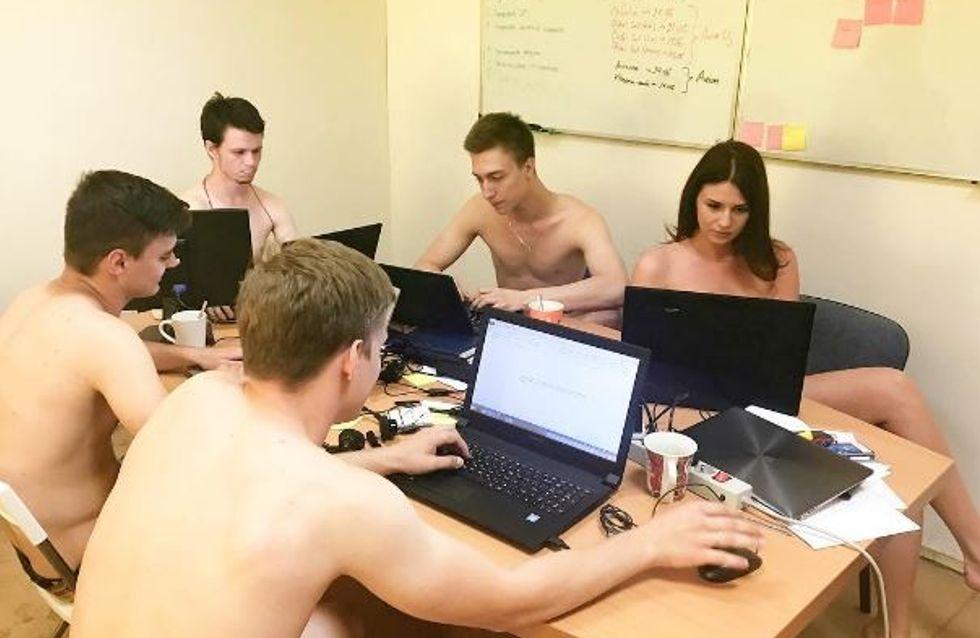 Pourquoi les Biélorusses vont-ils nus au travail ?