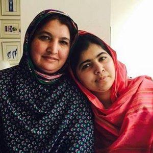 Malala Yousafzai et sa mère