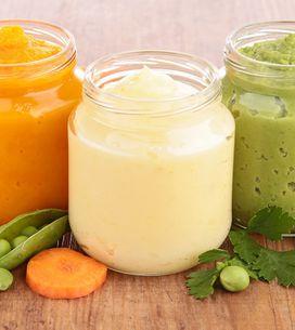 Cómo introducir la fruta y la verdura en la dieta de los bebés