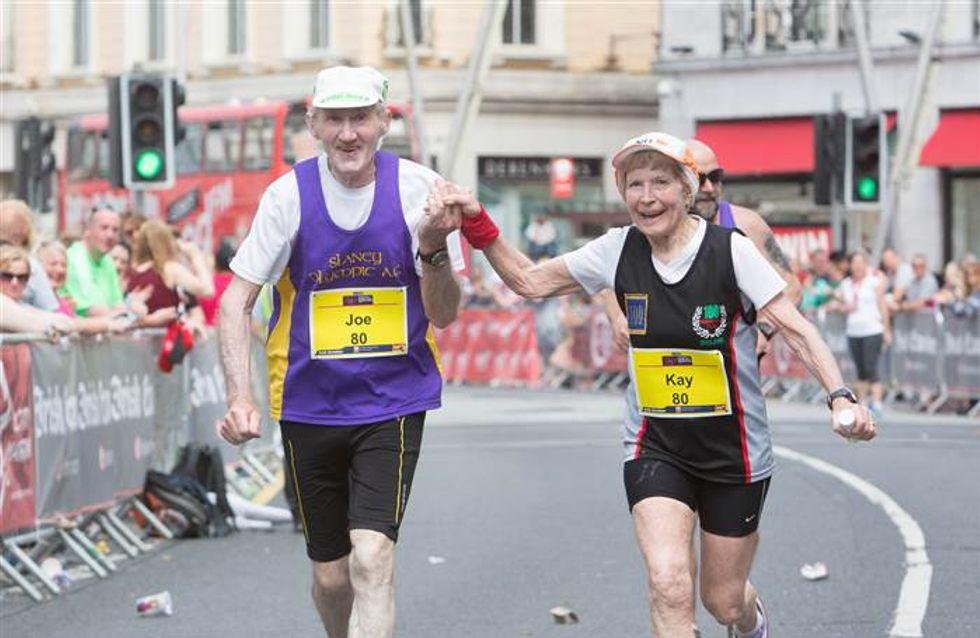 A 80 ans, ils font un marathon en couple pour célébrer leur amour