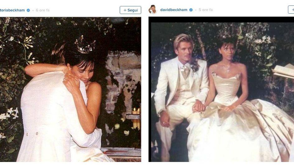 Un amore lungo 17 anni: le foto del matrimonio di David e Victoria Beckham