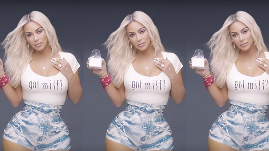 People Are Real Angry About Kim Kardashian's Body In Fergie's New Video