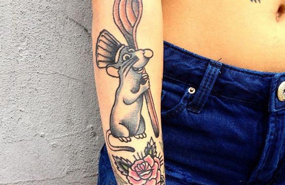 25 tatuajes de Disney que querrás tener en tu piel para siempre