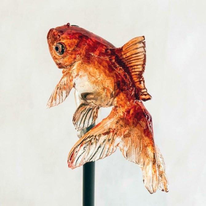 Artista japonês cria pirulitos em formato de animais extremamente realistas