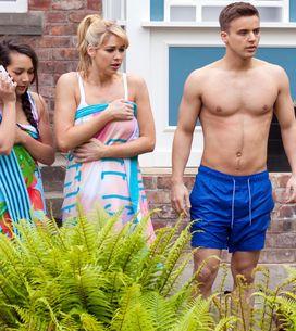 Hollyoaks 12/7 - Cleo, Harry, Holly and Zach hear Peri screaming
