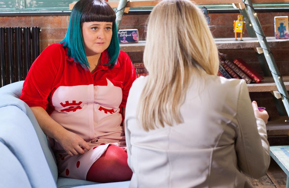 Hollyoaks 13/7 - Tegan meets with Diane and begs her not to go