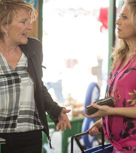 Eastenders 12/7 - Paul shares his fears with Pam about living and working together with Ben