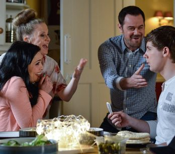 Eastenders 19/7 - Whitney breaks the news to a bemused Lee