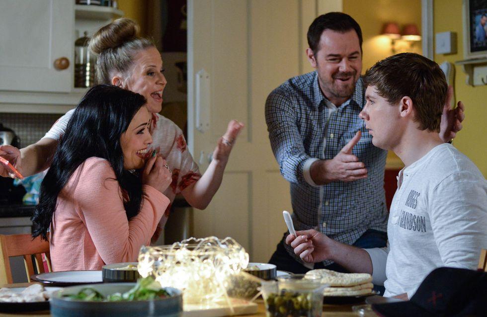 Eastenders 19/7 - Whitney breaks the news to a bemused Lee