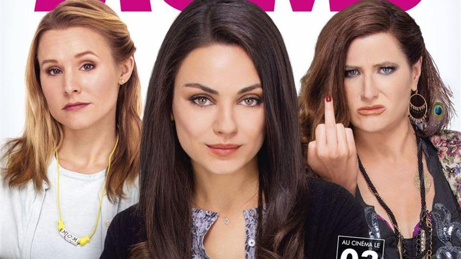 """Mila Kunis et Kristen Bell jouent les mères indignes dans """"Bad Moms"""""""