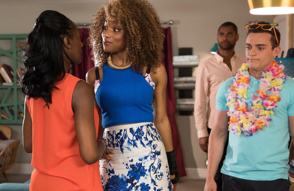 Hollyoaks 19/7 - Zack has an ultimatum for his parents