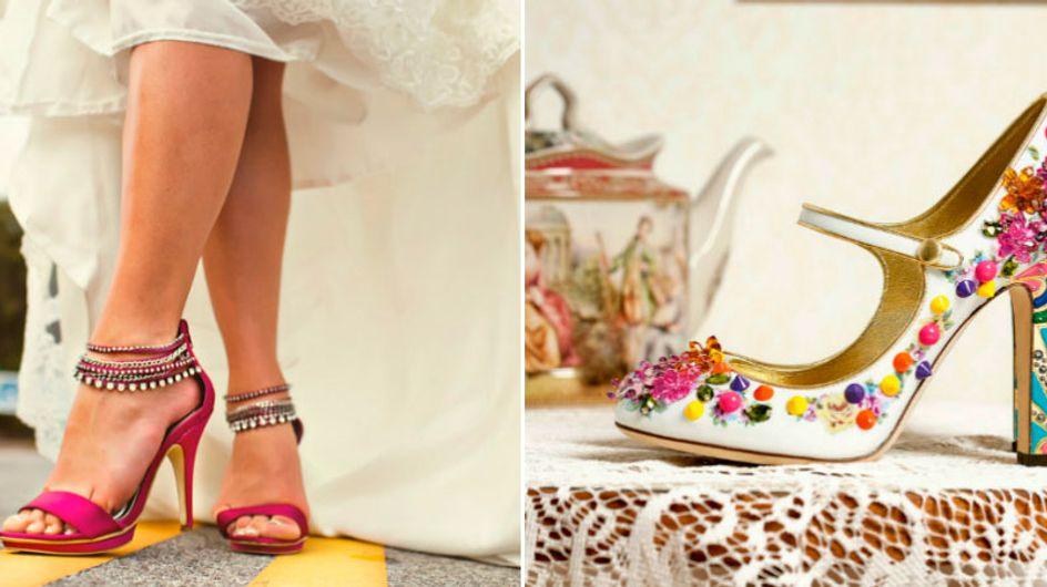 Sapato de noiva: temos opções para todos os estilos!