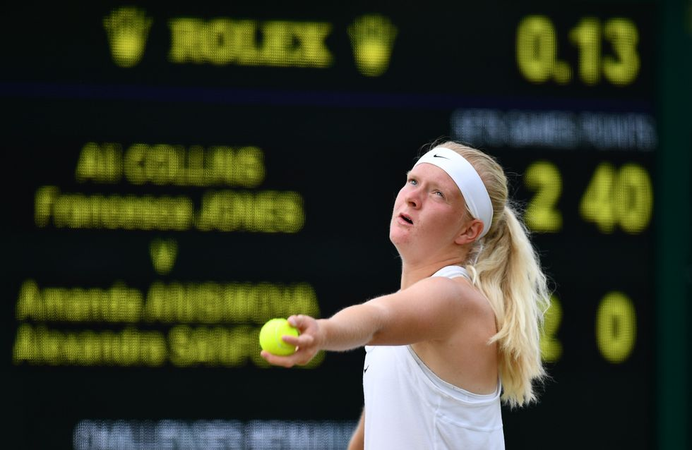 La femme de la semaine : Francesca Jones, 15 ans, joueuse de tennis malgré le handicap