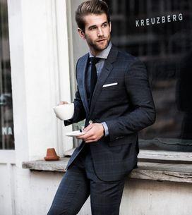 Hombres en traje, la combinación perfecta