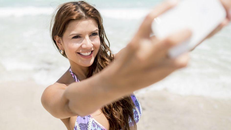 """10 astuces pour avoir l'air plus mince sur son """"Bikini selfie"""""""