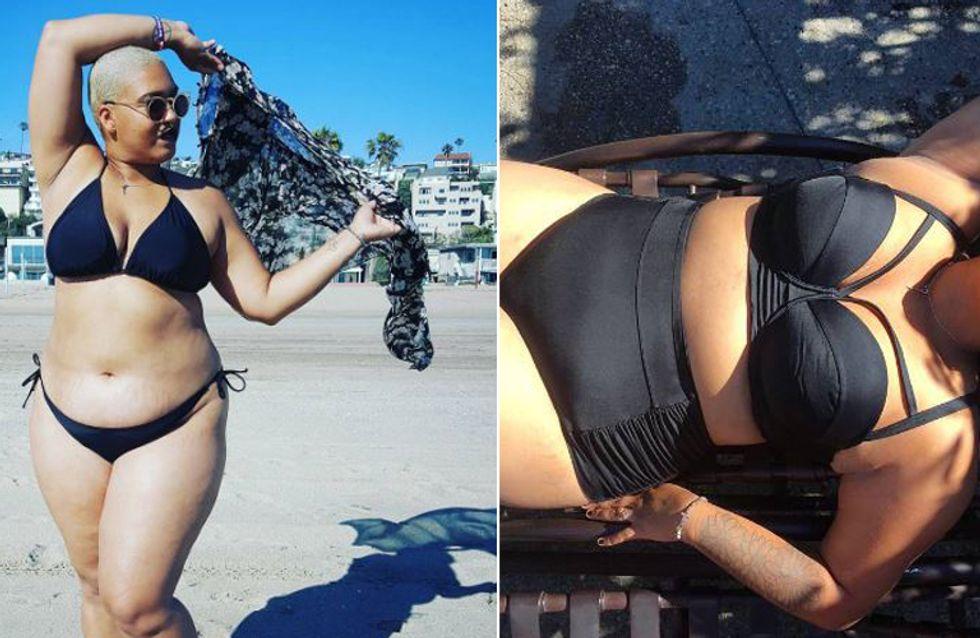 Nach 20 Jahren trägt sie zum ersten Mal einen Bikini - und wir finden: Es war allerhöchste Zeit!