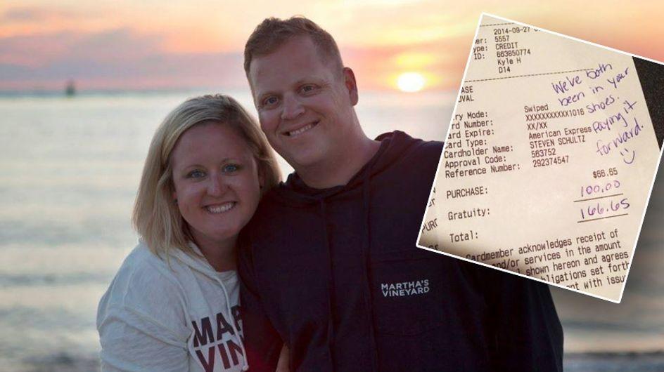 Mieser Service im Restaurant: Deshalb hinterlässt dieses Paar trotzdem 100 Dollar Trinkgeld