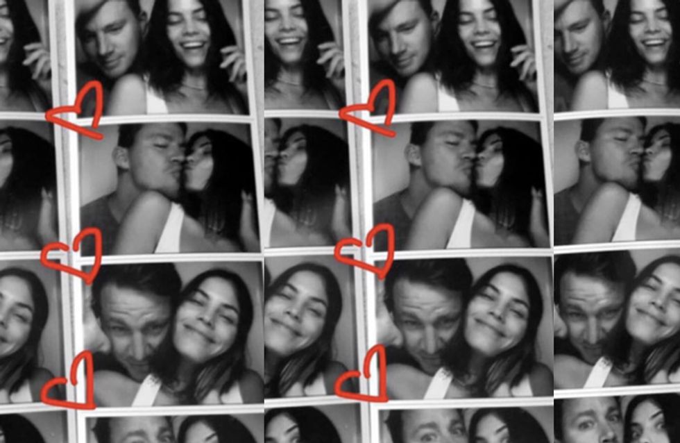 Channing Tatum And Jenna Dewan Tatum's Perfect Love Story In Pictures