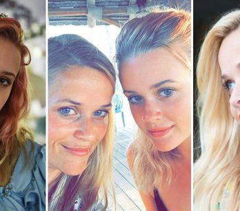Reese Witherspoon e la figlia, come due gocce d'acqua! Ecco il selfie che sta fa