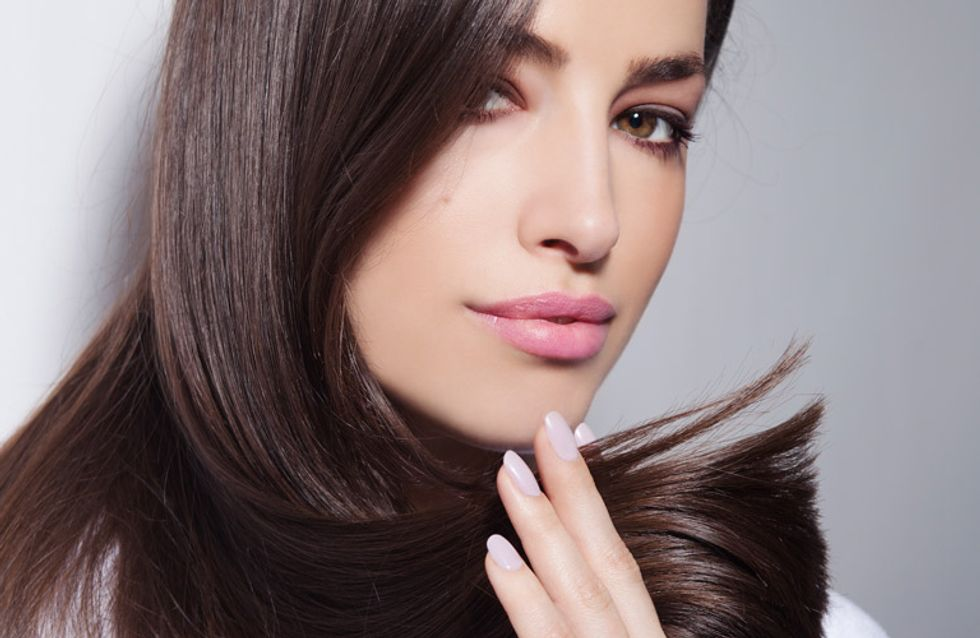 Henna para el pelo, ¡efecto inmediato!