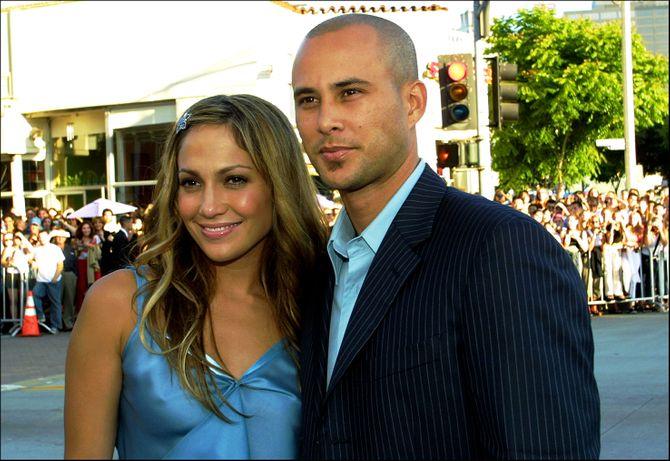 Jennifer López y Chris Judd