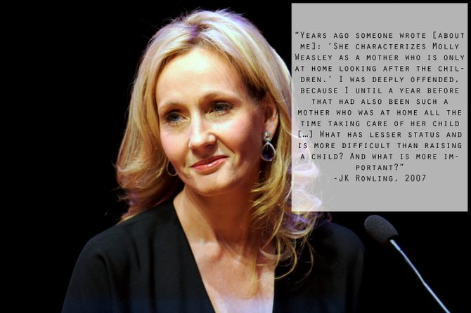 Inspiring quotes from JK Rowling