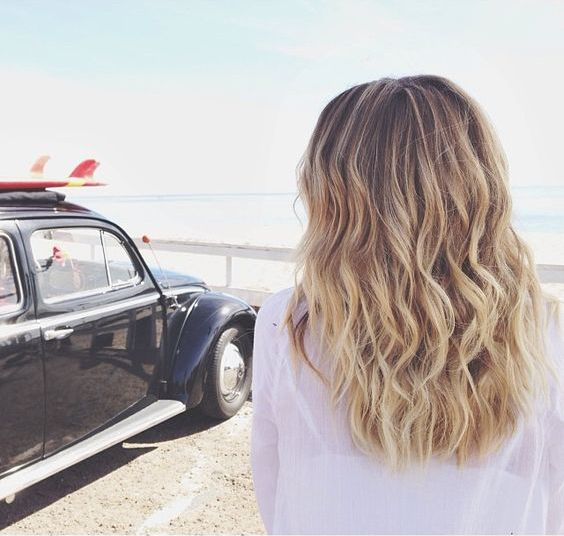 Beach Waves Come Fare I Capelli Mossi Dalleffetto Naturale