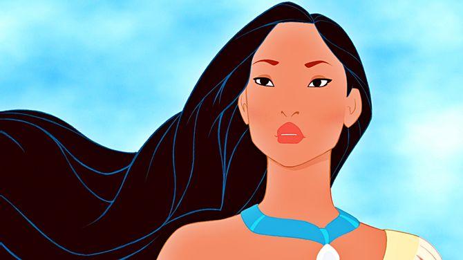 Pocahontas, princesse indienne d'Amérique