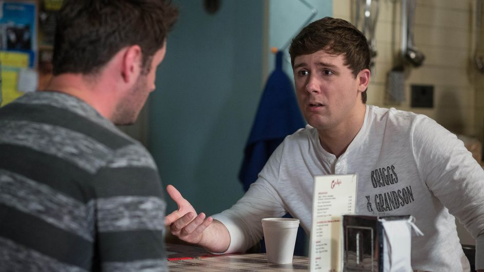 Eastenders 26/7 - Martin realises all is not well with Lee